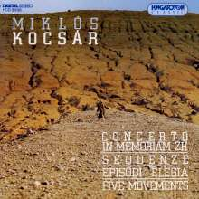 "Miklos Kocsar (geb. 1933): Hornkonzert ""In Memoriam ZH"", CD"