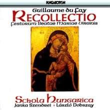 Guillaume Dufay (1400-1474): Recollectio Festorum Beate Marie Virginis, CD