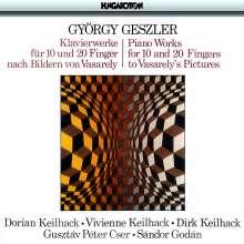 György Geszler (1913-1998): Klavierwerke für 10 & 20 Finger, CD