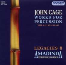 John Cage (1912-1992): Works for Percussion Vol.6, CD