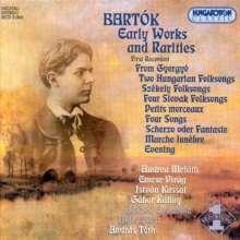 Bela Bartok (1881-1945): Lieder, CD