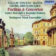 Vaclav Masek (1755-1831): Concertino für Cembalo 4-händig & Bläser, CD