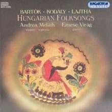Ungarische Volkslieder, CD