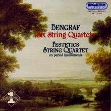 Joseph Bengraf (1745-1791): Streichquartette Nr.1-6, CD