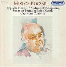 Miklos Kocsar (geb. 1933): Capricorn Concerto für Flöte & Kammerensemble, CD
