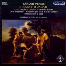 Sandor Veress (1907-1992): Kammermusik, CD