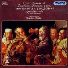 Carlo Tessarini (1690-1766): Contrasto Armonico op.10, CD