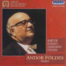 Andor Foldes,Klavier, CD