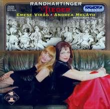 Benedict Randhartinger (1802-1893): Lieder, CD