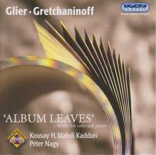 Kousay H.Mahdi Kadduri - Album Leaves, CD