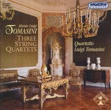 Luigi Tomasini (1741-1808): Streichquartette in D,d,B, CD