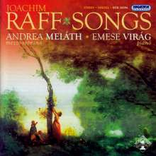 Joachim Raff (1822-1882): Lieder, CD