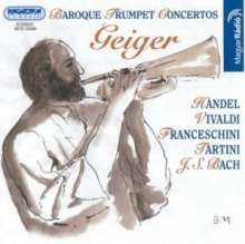 György Geiger - Baroque Trumpet Concertos, CD