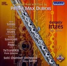 Pierre-Max Dubois (1930-1995): Kammermusik mit Flöte, CD