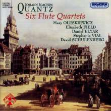 Johann Joachim Quantz (1697-1773): Flötenquartette Nr.1-6, CD