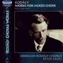 Zoltan Kodaly (1882-1967): Chorwerke Vol.2, CD