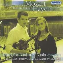 Wolfgang Amadeus Mozart (1756-1791): Duos für Violine & Viola KV 423 & 424, 2 CDs