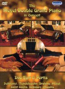 Duo Egri & Pertis - The Pleyel Double Grand Piano in Concert, DVD