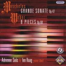 Grande Sonate op.47 für: Klavier 4-händig, CD