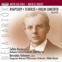 Bela Bartok (1881-1945): Rhapsodie für Klavier & Orchester, Super Audio CD