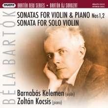 Bela Bartok (1881-1945): Sonaten für Violine & Klavier Nr.1 & 2, Super Audio CD