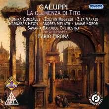 Baldassare Galuppi (1706-1785): La Clemenza Di Tito, 2 CDs