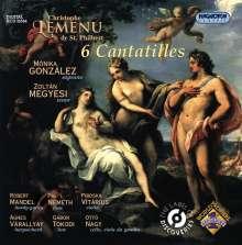 Christophe Lemenu De Saint-Philbert (1720-1774): 6 Cantatilles, CD