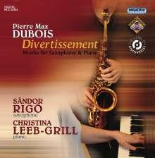 Pierre-Max Dubois (1930-1995): Werke für Saxophon & Klavier, CD