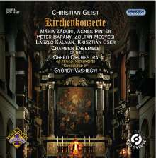 Christian Geist (1650-1711): Kirchenkonzerte, CD