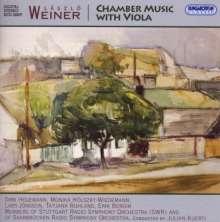 Laszlo Weiner (1916-1944): Kammermusik mit Viola, CD