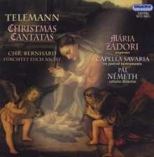 Georg Philipp Telemann (1681-1767): Weihnachtskantaten, CD
