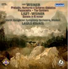 Leo Weiner (1885-1960): Preludi, Notturno & Scherzo diabolico, CD