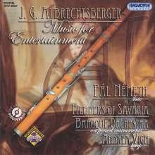 Johann Georg Albrechtsberger (1736-1809): Kammermusik mit Flöte, CD