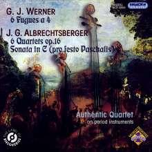 Johann Georg Albrechtsberger (1736-1809): 6 Streichquartette op.16, CD