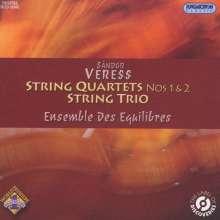 Sandor Veress (1907-1992): Streichquartette Nr.1 & 2, CD