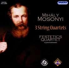 Mihaly Mosonyi (1815-1870): Streichquartette Nr.1,2,5, CD
