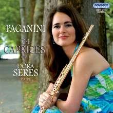 Niccolo Paganini (1782-1840): Capricen op.1 Nr.1-24 für Flöte solo, CD
