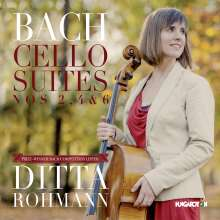 Johann Sebastian Bach (1685-1750): Cellosuiten BWV 1008,1010,1012, CD