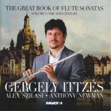 """Gergely Ittzes - The Great Book of Flute Sonatas Vol.1 """"The 18th Century"""", CD"""