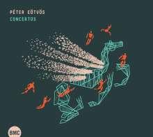 Peter Eötvös (geb. 1944): Levitation für 2 Klarinetten, Akkordeon & Streichorchester, CD