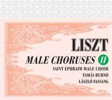 Franz Liszt (1811-1886): Werke für Männerchor Vol.2, CD