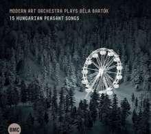 Bela Bartok (1881-1945): 15 Ungarische Bauernlieder für Ensemble, CD