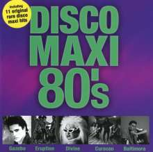 Disco Maxi 80's Vol.1, CD