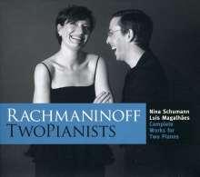 Sergej Rachmaninoff (1873-1943): Suiten für 2 Klaviere opp.5 & 17, 2 CDs