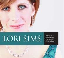 Lori Sims,Klavier, CD