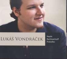 Lukas Vondracek - Haydn/Rachmaninoff/Prokofieff, CD