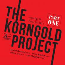 Erich Wolfgang Korngold (1897-1957): The Korngold Project Teil 1, CD