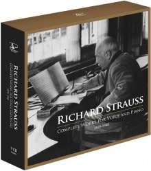 Richard Strauss (1864-1949): Sämtliche Klavierlieder, 8 CDs
