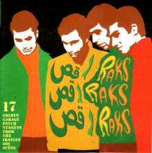 Raks Raks Raks: 17 Golden Garage Psych Nuggets From The Iranian 60s Scene, LP