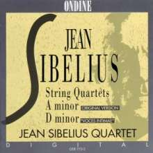 Jean Sibelius (1865-1957): Streichquartette op.56 & a-moll, CD
